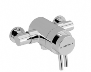 Bristan Prism Thermostatic Exposed Shower Mixer (Valve Only)